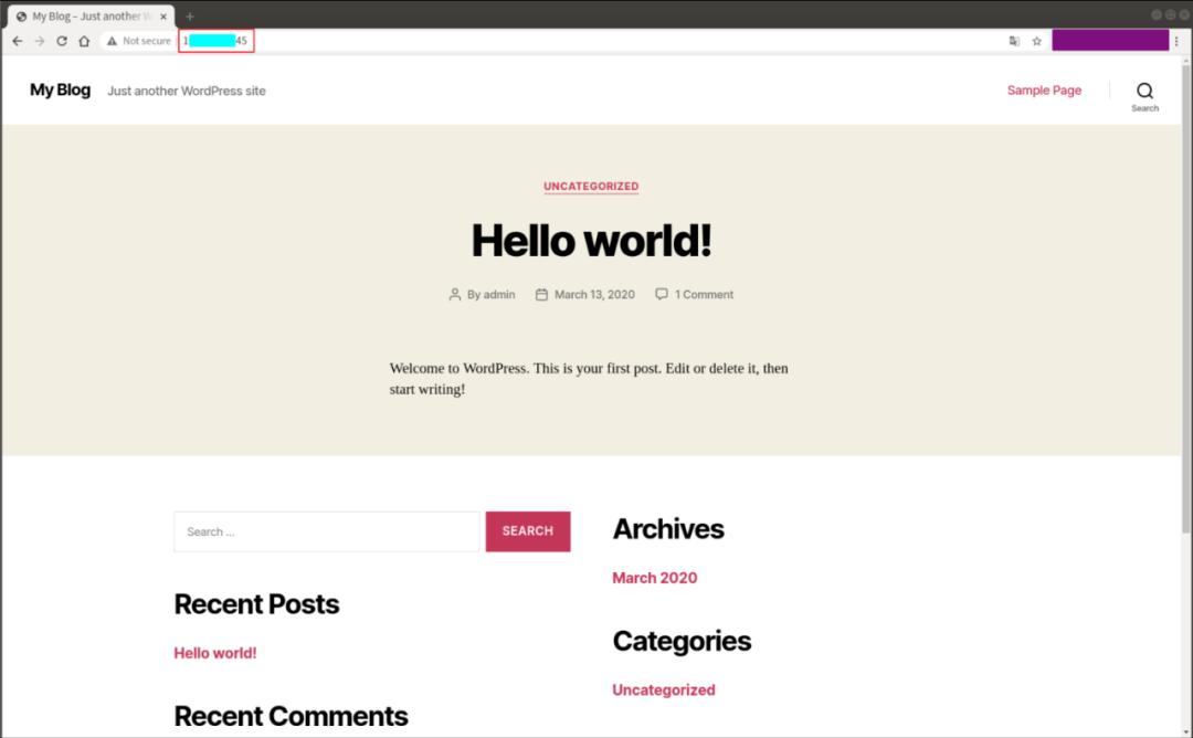 腾讯云轻量服务器 零基础快速搭建WordPress博客教程-图4